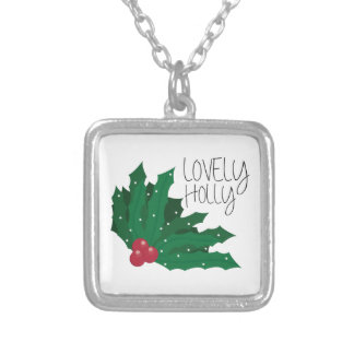 Lovely Holly Personalized Necklace