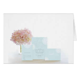 Lovely Hydrangea Card