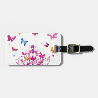 Lovely Infinity Butterfly Bag Tag