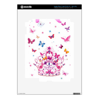 Lovely Infinity Butterfly Decal For iPad 3