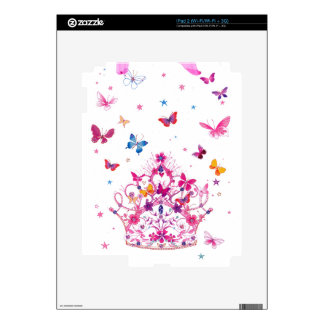 Lovely Infinity Butterfly Decals For The iPad 2