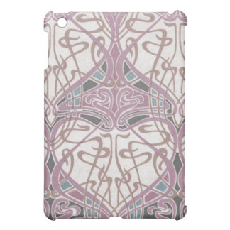 lovely intertwined art nouveau abstract iPad mini cases