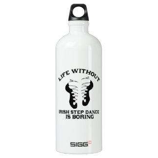 Lovely Irish Step dance DESIGNS Water Bottle