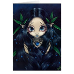 """""""Lovely is the Night"""" Greeting Card"""