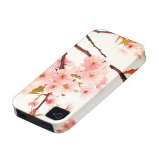 Lovely Japanese cherry blossom Case-Mate iPhone 4 Covers