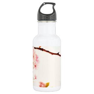 Lovely Japanese cherry blossom Stainless Steel Water Bottle