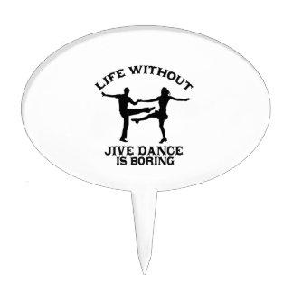 Lovely Jive dance DESIGNS Cake Topper