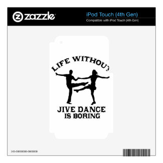 Lovely Jive dance DESIGNS iPod Touch 4G Decals