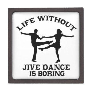 Lovely Jive dance DESIGNS Keepsake Box