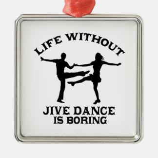 Lovely Jive dance DESIGNS Metal Ornament