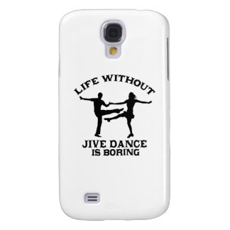 Lovely Jive dance DESIGNS Samsung Galaxy S4 Case