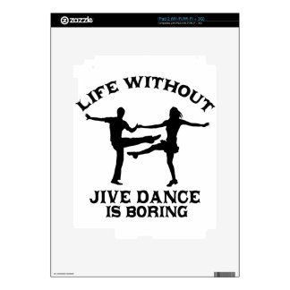 Lovely Jive dance DESIGNS Skin For The iPad 2