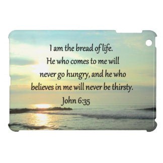LOVELY JOHN 6:35 SUNRISE PHOTO DESIGN CASE FOR THE iPad MINI