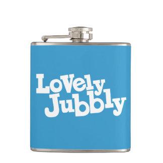 Lovely jubbly slang cockney humor flask