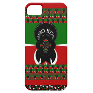 Lovely Kenyan Hearts flag iPhone SE/5/5s Case