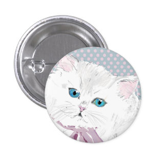 lovely kitty button