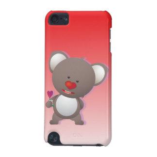 Lovely Koala Bear Heart Nose iPod Touch (5th Generation) Cover