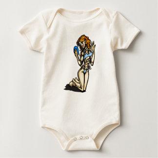 Lovely Lady Baby Bodysuit