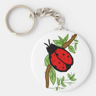 Lovely lady bug key chain