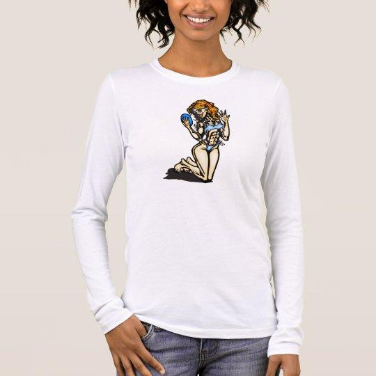 Lovely Lady Long Sleeve T-Shirt