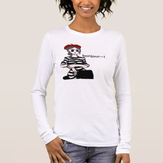 Lovely Lady Mime Long Sleeve T-Shirt