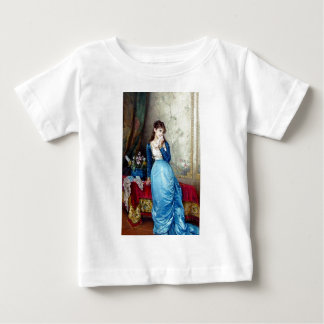 Lovely lady painting baby T-Shirt