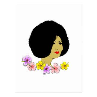 Lovely Lady Postcard