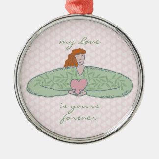 Lovely Lady Stole My Heart  Ornament