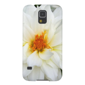 Lovely Lady White Flower Collection Galaxy S5 Cover