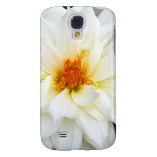 Lovely Lady White Flower Collection Galaxy S4 Cover