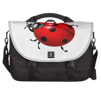Lovely ladybug design products bag for laptop