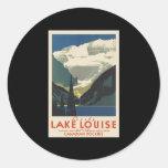 Lovely Lake Louise Sticker