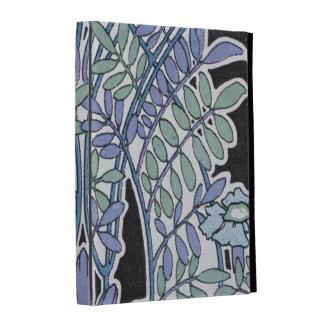 lovely lavender pastel art nouveau vintage floral iPad case