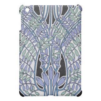 lovely lavender pastel art nouveau vintage floral iPad mini cases