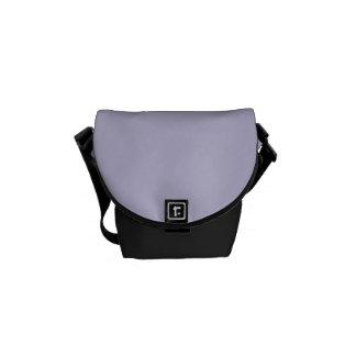 Lovely Lavender Purple Color Trend Blank Template Messenger Bag