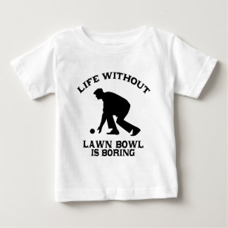Lovely Lawn bowl DESIGNS Baby T-Shirt