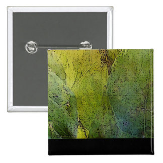 Lovely Leaflight 2 Inch Square Button