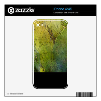 Lovely Leaflight Decal For iPhone 4