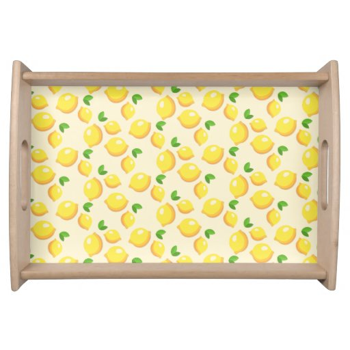 Lovely Lemon Serving Tray