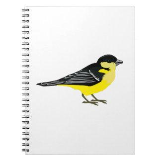 Lovely Lesser Goldfinch Notebook