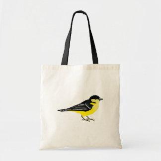 Lovely Lesser Goldfinch Tote Bag