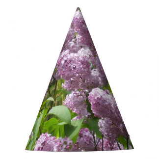 Lovely Lilac Bush Party Hat