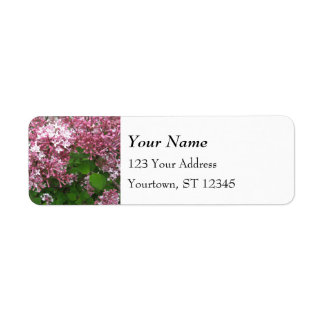 Lovely Lilac Label