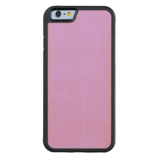 Lovely Lilac Solid Color Carved® Maple iPhone 6 Bumper Case