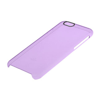 Lovely Lilac Solid Color Clear iPhone 6/6S Case