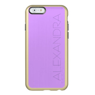 Lovely Lilac Solid Color Incipio Feather Shine iPhone 6 Case
