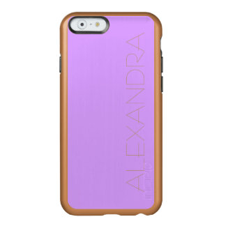 Lovely Lilac Solid Color Incipio Feather® Shine iPhone 6 Case