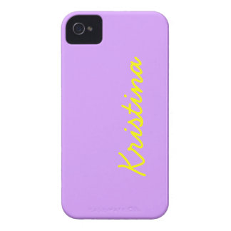 Lovely Lilac Solid Color iPhone 4 Case-Mate Case