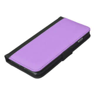 Lovely Lilac Solid Color iPhone 6/6s Plus Wallet Case