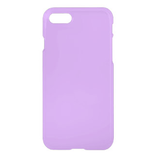 Lovely Lilac Solid Color iPhone 7 Case